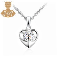 aesthetic value - JPF heart necklace fashion jewelry necklace female wholeheartedly aesthetic value gift birthday gift