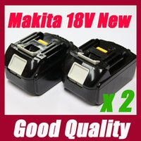 Wholesale 2 PACKS of Makita v Lithium Ion Battery BL1830 for power tool Recommend order lt no track