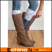 Wholesale Women s Sexy Stretch Lace Flower Leg Warmers Trim Toppers Boot Socks Cuffs