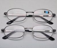 Wholesale High quality fashion Large metal frame reading glasses for men optical glasses frame for girls boys reading glasses Free ship