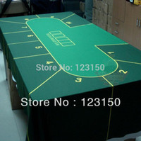 Wholesale WP Professional Water Resistant Poker Table Cloth Casino Layout Game Cloth PC