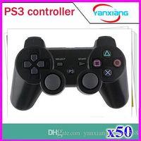 Vibration Wireless Bluetooth Joystick de jeu pour contrôleur sans fil PS3 50 pcs ZY-PS-01