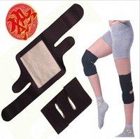 Wholesale Tourmaline Self Heating Kneepad Magnetic Therapy Knee Support Tourmaline Heating Belt Knee Massager Belt Neck Hot Sale