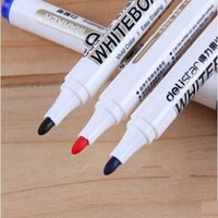 Wholesale Marker Pens Waterproof Ink Black Blue Red Color Paint Marker School Office Students Writing Markers Piece