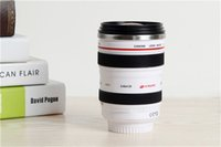 Wholesale The sixth generation of Canon lens cup stainless steel liner travel thermal Coffee camera lens mug cup ML Classic