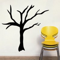 bare tree branches - 6pcs Bare Branched Trees Wall Stickers Vinyl Removable DIY Home Decor Art Self Adhesive For Living Room