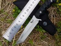 army survival gear - Outdoor gear Survival Knife best Karambit Knife Blade Army Hunting hiking Camping Rescue bushcraft Knife midsize Straight knife machete