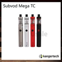 batteries sticks - Kanger Subvod Mega TC Starter Kit With ml Toptank Mini Atomizer mah Battery Original VS Stick One K3 Starter Kit Original