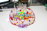 Wholesale 2014 New Arrival Toy for Children Baby Tent Ocean Ball Pool Child Tent Outdoor Toys Folding Ocean Ball Game House pieces
