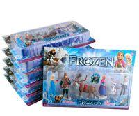 Cheap New Arrival Frozen Anna Elsa Hans Kristoff Sven Olaf PVC Action Figures Toys Classic Toys dolls Cartoon Anime Movies