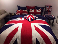 american express fashion - British and American Style Duvet Cover Sets Fashion Cotton Bedding Sets Queen Size King Size Express Delivery