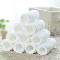 Wholesale eusable baby Diapers Cloth Diaper Inserts piece Layer Insert Cotton Washable Baby Care Products Drop Ship