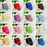 arrow delivery - 40 Colors Cheap Neck Ties for Men Solid Polyester Arrow Necktie Neck Ties Fashion Accessories Regular Size Fast Delivery MT005 Marrysa