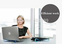 Wholesale by DHL Fedex Convenient Computer Cooler Easy Portable Laptop Cooling Notebook Cooler Stand Radiator