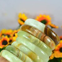 Wholesale Vintage Women Chinese Natural Jade Bangles Bracelet Pretty Color Jade Bangle for Women Mother s Day Gift Jewelry