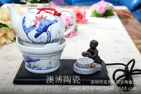 Wholesale Ceramic stove Carefree purple kung fu furnace burning electric kettle boiled tea health pot furnace