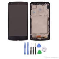 bar parts kit - 1pc LCD Display Touch Digitizer Screen Assembly with Frame Replacement Parts For Google Nexus LG D820 D821 Tempered Glass Film Tool Kit