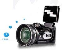 Wholesale HD Digital POLO HD9100 MP CMOS Digital Video Camera quot LCD Screen Telephoto Lens HD Camcorder HDMI HDTV DVR remote control