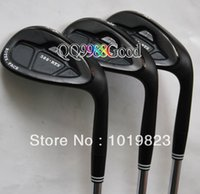Wholesale HOT Golf Club wedge NEW RTX golf wedges Clubs set black steel shaft golf grips EMS Free EMS Shipping