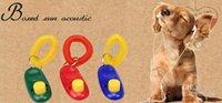 dog clicker - Popular hot Dog Pet Click Clicker Pet Training Trainer Aid I Click Wrist Strap Obedience Agility