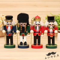 Wholesale 4Piece Cute CM The Nutcracker Soldier The Little Cherub Puppet Kids Gift