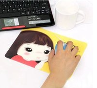 Wholesale 2072 korea cookyshop stationery biscuits girl cartoon slip resistant mouse pad