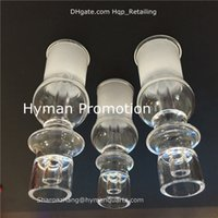 Wholesale 60 off Domeless quartz Enail male female fit for mm or mm coil heater quartz banger Enails domeless clear ground joint from Hyman