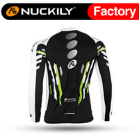 bicycle line jersey - Nuckily Cycling go pro jersey with fleece lining bicycle cycling jersey Wholsale with best quality long thermal fleece shirt for men