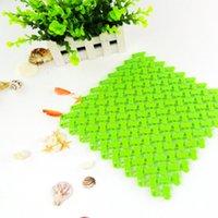 non slip bath mat - stitching DIY impermeable non slip bath mat public places cm colors