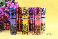Wholesale Brand New ml printing perfume Fashion Deluxe Travel Refillable Mini Atomiser Spray Perfume ml Bottle