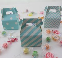 Cheap 3000pcs Assorted Design Gable Candy Boxes Wedding Decoration Birthday Party Favor Gift Food Boxes Paper Loot Bags