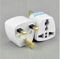 Wholesale Universal EU US AU to UK AC Travel Power Plug Charger Adapter Converter Travel Adaptors UK Free