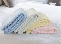 Wholesale tapete infantil direct selling swaddle autumn newborn holds baby cotton quilt blankets supplies nap blanket