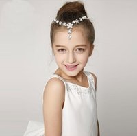 Wholesale Princess forehead chain chain chain between the brows Headbands hair band children Hair Accessories Wedding Kids Jewelry New Style