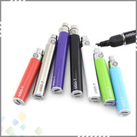 android electronic - New Ugo T EGO Passthrough Battery mAH Electronic Cigarettes Android Battery for Atomizer can be charged by Android Cable