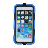 military cell phone - Heavy Duty Cell Phone Cases for Iphone s Plus PC Silicone Waterproof Shockproof Hard Military Mobile Phone Covers freeshipping