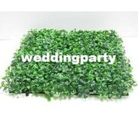Wholesale 200pcs artificial turf Artificial plastic boxwood grass mat cm cm