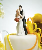 basketball birthday decorations - Playful Basketball Bride and Groom Figurine Wedding Cake Toppers Colorful Wedding Decoration New Design Wedding Supplies