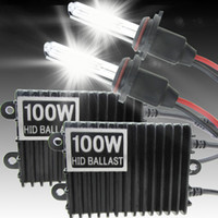 100w hid - 12V W K Car HID Xenon Kit Headlight Head Light HID Xenon Conversion Kit H1 H3 H4 H7 H8 H9 H10 H11