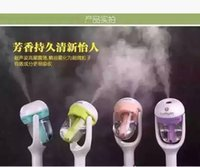 Wholesale Nanum Fashion New Mini Charging Portable Water Bottle Steam Humidifier Air Mist Diffuser Purifier Car Office Room