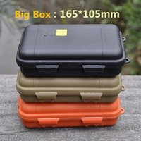 Wholesale Hot Sale Large Size New Outdoor Shockproof Waterproof Box Survival Case Containers For Storage Travel Kit EDC Tool Sealed Boxes