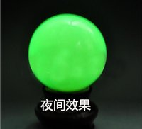 Wholesale 2016 Hot Sale Luminous Pearl Stone Iceland SPAR Luminous Ball Fitness Balls Pair With the box