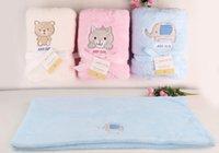 Wholesale 2015 New Spring And Summer Baby Blankets Coral Fleece Newborn Baby Sleeping Blanket Factory Sales