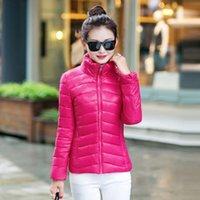 Wholesale 2015 new winter jacket Korean female fashion thin cotton slim short size feather padded jacket