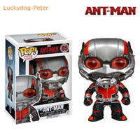 big headed ants - Ant Man Action Figure Ant Man Vinyl Bobble Head Doll PVC ACGN figure Garage Kit Toy Brinquedos Anime CM