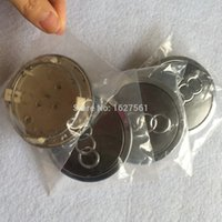 Wholesale Car styling mm black wheel center hub cap cover emblem for A u d i A4 A6 Q5 Q7 A3 A1