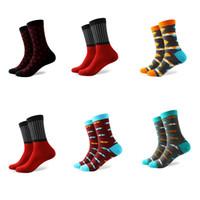 Wholesale 2016 new styles No logo men s Combed Cotton socks US size