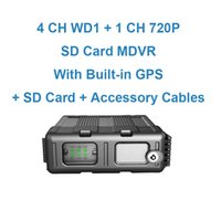 Wholesale Compact Channels Maximum GB SD Card HD Mobile Digital Video Recorder MDVR with GPS WIFI Optional and G G Optional
