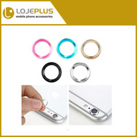Wholesale 2015 X Back Camera Metal Lens Protective Ring Circle Cover Protector For iPhone Iphone