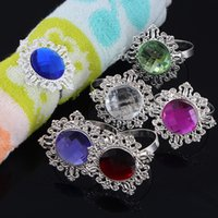 Wholesale Napkin Rings Serviette Holder Wedding Party Banquet Dinner Decor Favor Napkin Ring Table Decoration